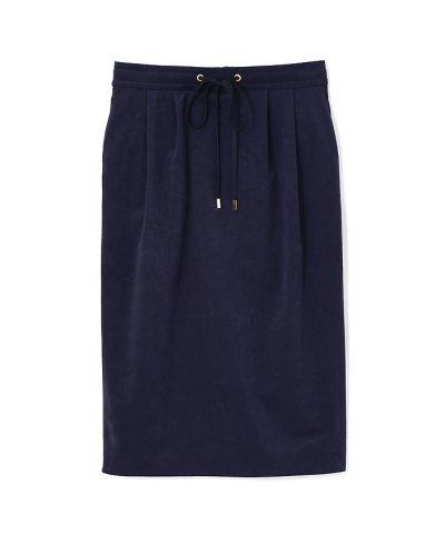 トリコットスウェード スカート