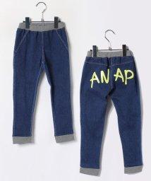 ANAP KIDS/裾リブデニムパンツ/002019823