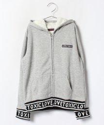 Lovetoxic/裏ボアロゴパーカー/002026025