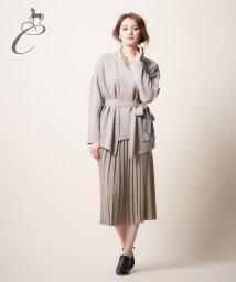 JIYU-KU /【Class Lounge】ウールスムース スカート/002033554