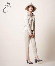 JIYU-KU /【Class Lounge】シルクウールストレッチ パンツ/002033562