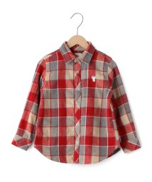 coen/【coen kids】ウィンターリネンチェックシャツ(100〜150cm)/002027999