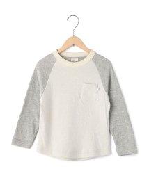coen/【coen kids】接結配色ラグランスリーブTシャツ(100〜150cm)/002028001