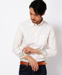 MONSIEUR NICOLE/レギュラーボタンダウンシャツ/002036117