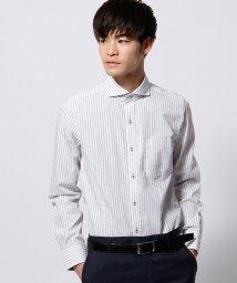 NICOLE CLUB FOR MEN/ストライプドレスシャツ/002036245