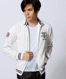 NICOLE CLUB FOR MEN/Admiral別注ジップアップカーディガン/002037023
