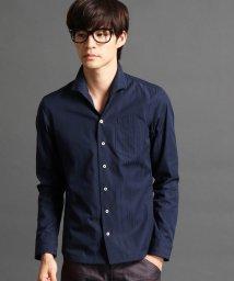 NICOLE CLUB FOR MEN/イタリアンカラーシャツ/002037063