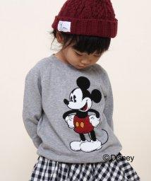 coen/【coen kids】MICKEY サガラ刺繍裏毛スウェット(100~150cm)/002028002
