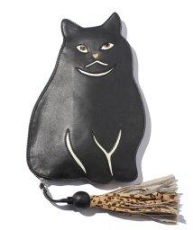 en recre/【CASSELINI】猫型クラッチバッグ/002028024