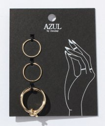 AZUL by moussy/ナットSETリング(CARD)/002025027