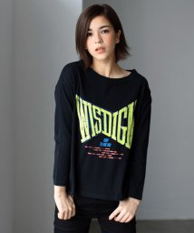 AZUL by moussy/WISDIGMロック長袖T/002025086