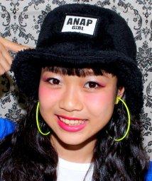 ANAP GiRL/フェイクファーバケットハット/002029003