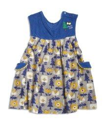 Petit jam / F.O.KIDS MART/森の花柄ジャンパースカート/002037613