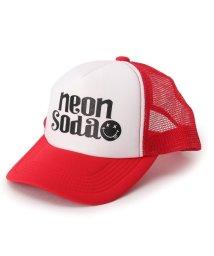 PINK-latte/Neon Soda ロゴメッシュキャップ/002040675