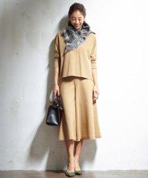 NIJYUSANKU/【大人気】カットオフスムース スカーチョパンツ/002041555
