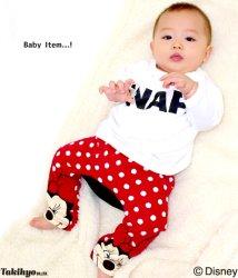 ANAP KIDS/ミッキーミニーモンキーパンツ/002029009