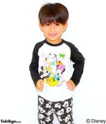 ANAP KIDS/ディズニーラグランロンTシャツ/002029010