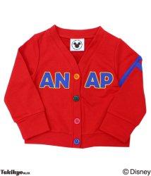 ANAP KIDS/ディズニー裏毛カーディガン/002029013