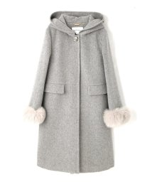 JILL by JILLSTUART/ITALIAN LONG HOODIE COAT/10241902N