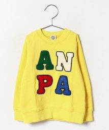 ANAP KIDS/サガラ/フェルトワッペントレーナー/002034283