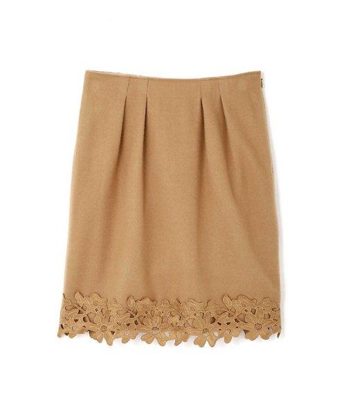 PROPORTION BODY DRESSING(プロポーション ボディドレッシング)/Fluffy embroideryスカート/1216220914