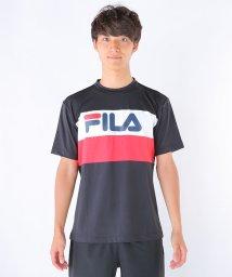FILA/マイクロスムース切替Tシャツ/002015556