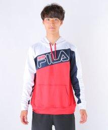 FILA/杢リバーメッシュ胸切替パーカー/002015560