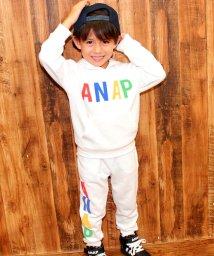 ANAP KIDS/発砲ロゴパンツ 【SET UP対応】/002038055