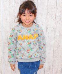 ANAP KIDS/花柄キルティングトレーナー/002038057