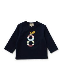 green label relaxing (Kids)/【BABY】 gロゴ プリント Tシャツ ロングスリーブ/002047392