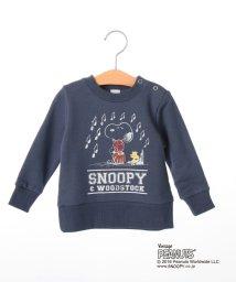 SHIPS KIDS/SHIPS KIDS:スヌーピー プリント スウェット(80~90cm)/002052323