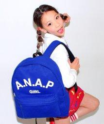 ANAP GiRL/スウェットホワイトロゴリュック/001881183
