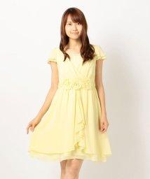 MISCH MASCH/お花モチーフふんわりドレス/002051035