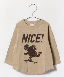 petit main/くまスケボーTシャツ/002046970