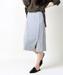 FREAK'S STORE/カシミヤ混リブニットスカート/002054694