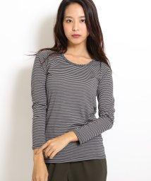 LIPSTAR/三つ編みロングTシャツ/002056686