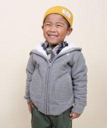 coen/【coen kids】裏毛ボアジップパーカー16FW(100~150cm)/002044762