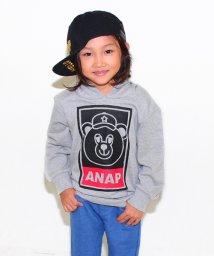 ANAP KIDS/ナップくんフーディートップス/002052017