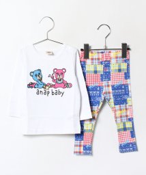 ANAP KIDS/長袖Tシャツ+レギンス SET/002052018