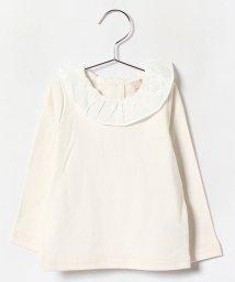 petit main/衿フリルTシャツ/002054306
