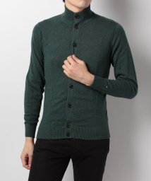 TOMMY HILFIGER MENS/AS PIMA CTN CASHMERE BTN-THRU CF/002054500