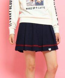 PINK-latte/裾ラインプリーツスカート/002059511