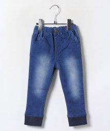 petit main/ジョグデニム裾リブパンツ/002054297