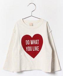 petit main/ハートプリントTシャツ/002054304
