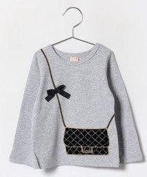 petit main/バックトロンプルイユTシャツ/002054307