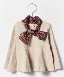 petit main/スカーフ付ロンT/002054323
