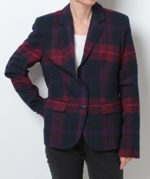 TOMMY HILFIGER WOMEN/W CLASSIC HOLIDAY PLAID BLAZER/002054472