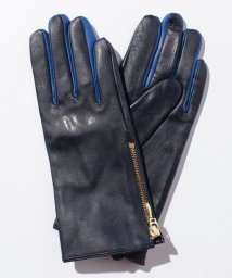 TOMMY HILFIGER WOMEN/AW SILHOUETTE CLRBLK LEATHER GLOVES/002054470