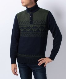 TOMMY HILFIGER MENS/JS ARTHUR BUTTON FAIR ISLE/002054483