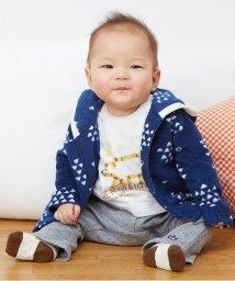 baby ampersand / F.O.KIDS MART/フリース三角柄パーカー/002059401
